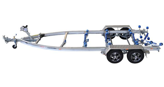 Trailers 2750kg Alloy Tandem Plate Series Multi-Roller Trailer
