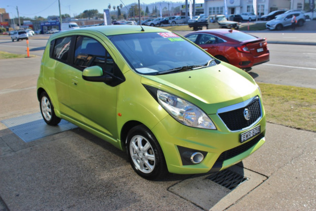 2011 Holden Barina Spark MJ  CD Hatchback Image 4