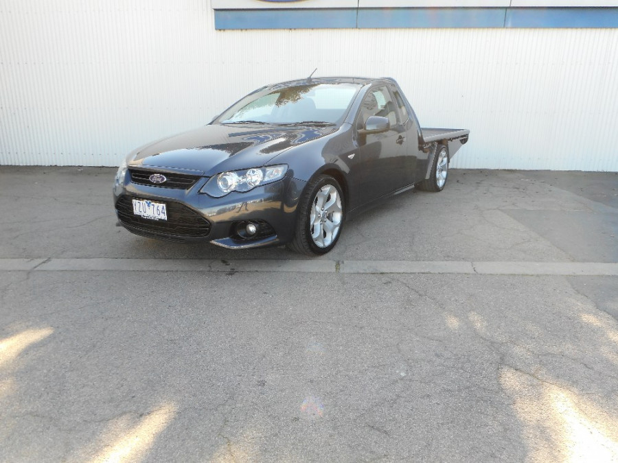 2012 MY11 Ford Falcon FG XR6 Cab chassis
