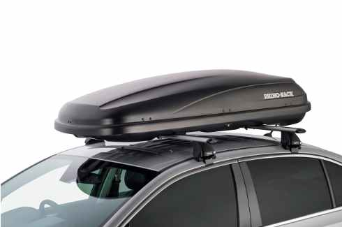 """<img src=""""Rhino-Rack luggage roof box - 370L Black"""