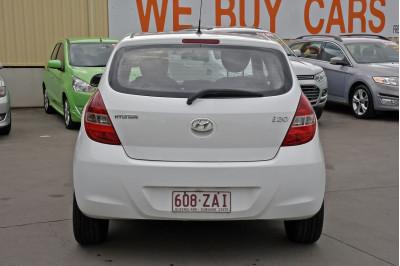 2011 Hyundai I20 PB MY11 Active Hatchback Image 4