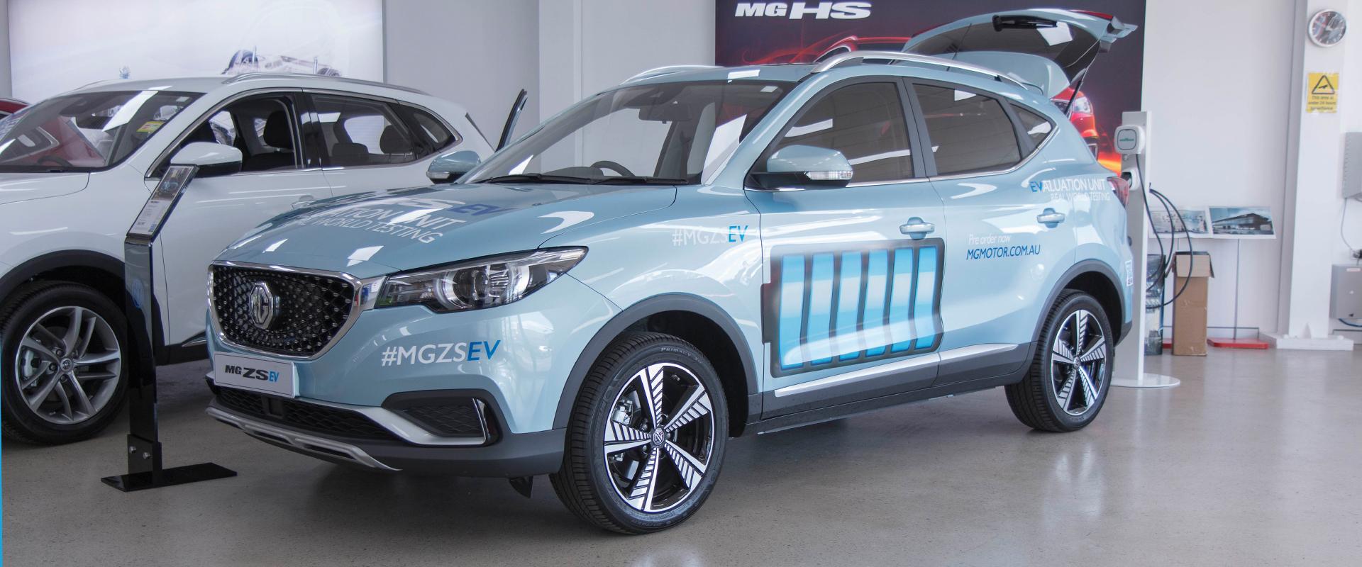 MG ZS EV Display Event at MG Parramatta