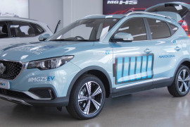MG ZS EV Display Event at MG Parramatta