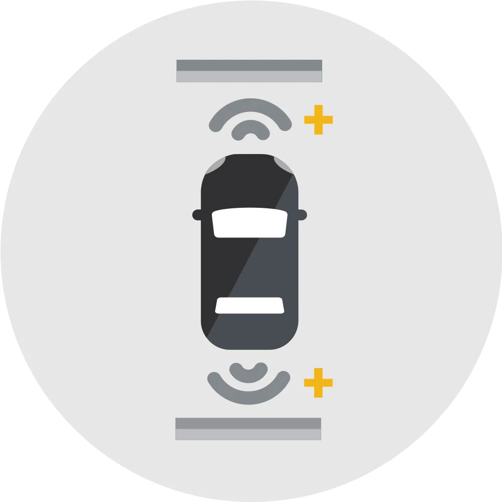 FRONT AND REAR PARK ASSIST Image