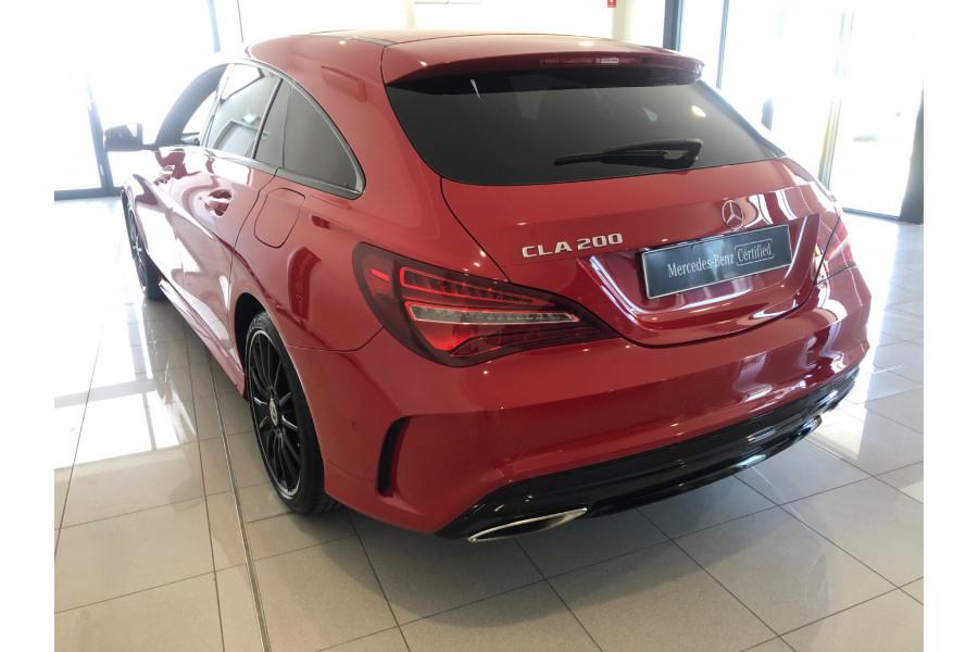 2018 MY58 Mercedes-Benz Cla-class X117 808+058MY CLA200 Wagon