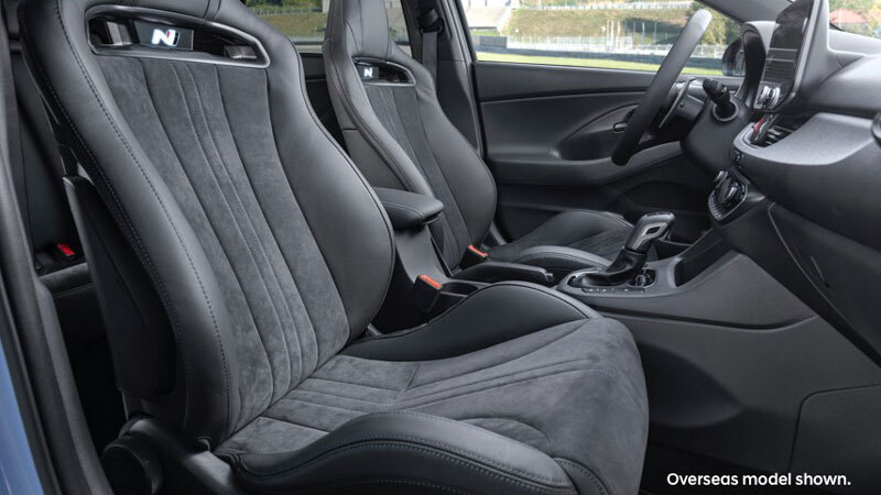 Fast lap of luxury seats. Image