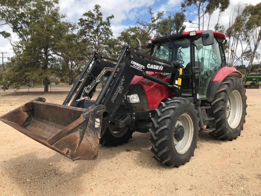 2011 Case IH MAX110 Tractor crawler Image 1