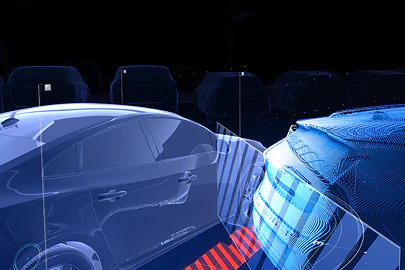 Park assist, front, rear and sides Image