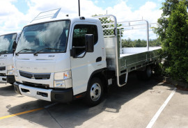 Fuso Canter 515 WIDE CAB TRAY BACK