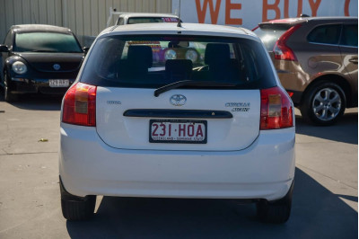 2004 Toyota Corolla ZZE122R Ascent Hatchback Image 5