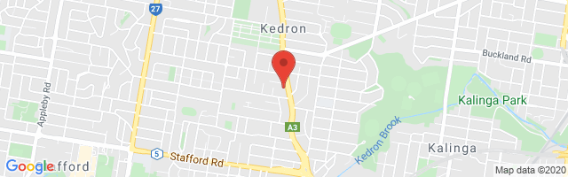 Brisbane MG - Kedron Map