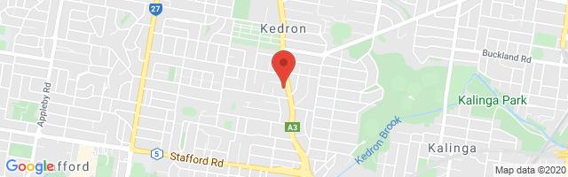Brisbane MG - Kedron Map