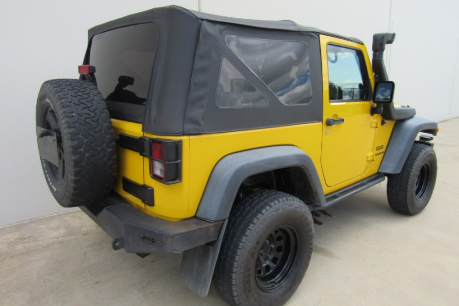 2009 Jeep Wrangler JK MY2009 SPORT Softtop