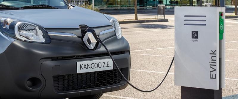 Kangoo Z.E. Zero emissions urban delivery van