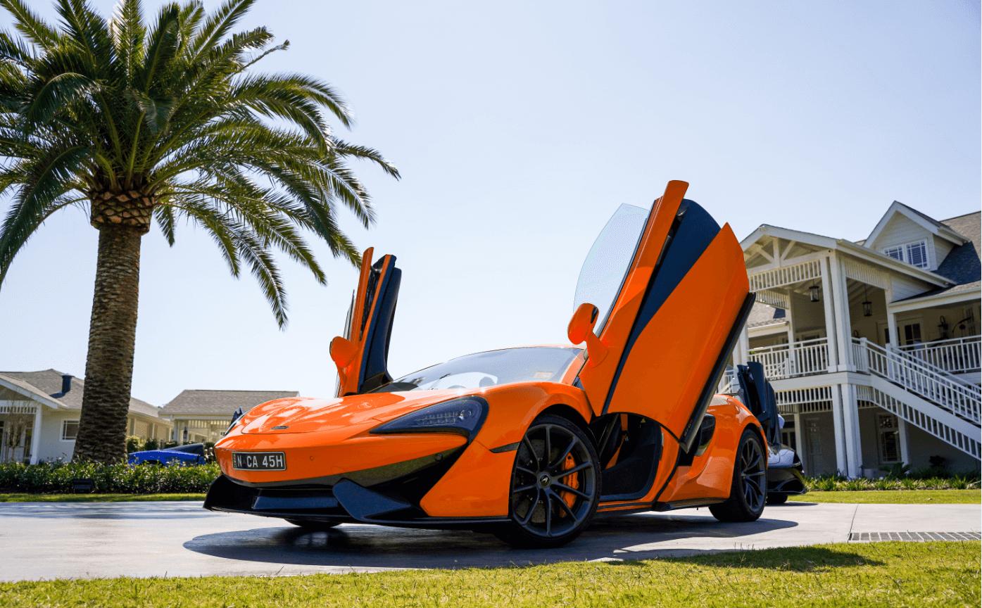 2019 McLaren Gold Coast Drive Experience