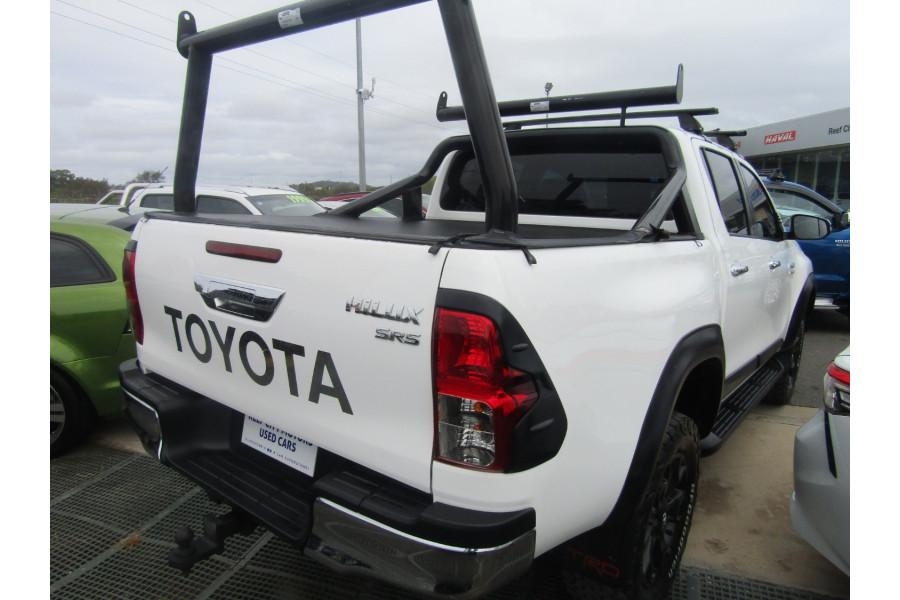 2017 Toyota racingdevelop HiLux GUN126R SR5 Utility