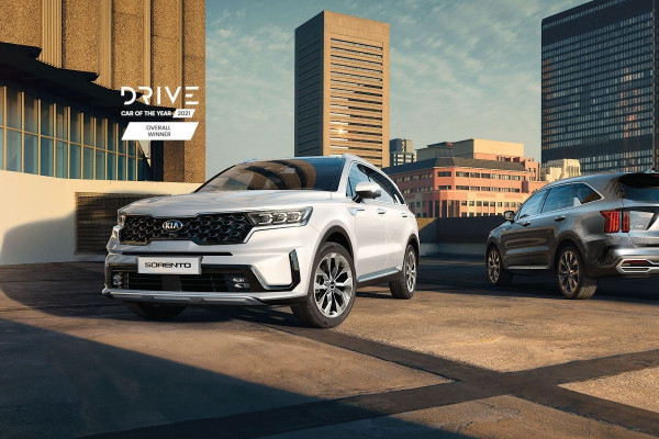 Kia Sorento Wins 2021 Drive Car Of The Year - Overall Winner Award