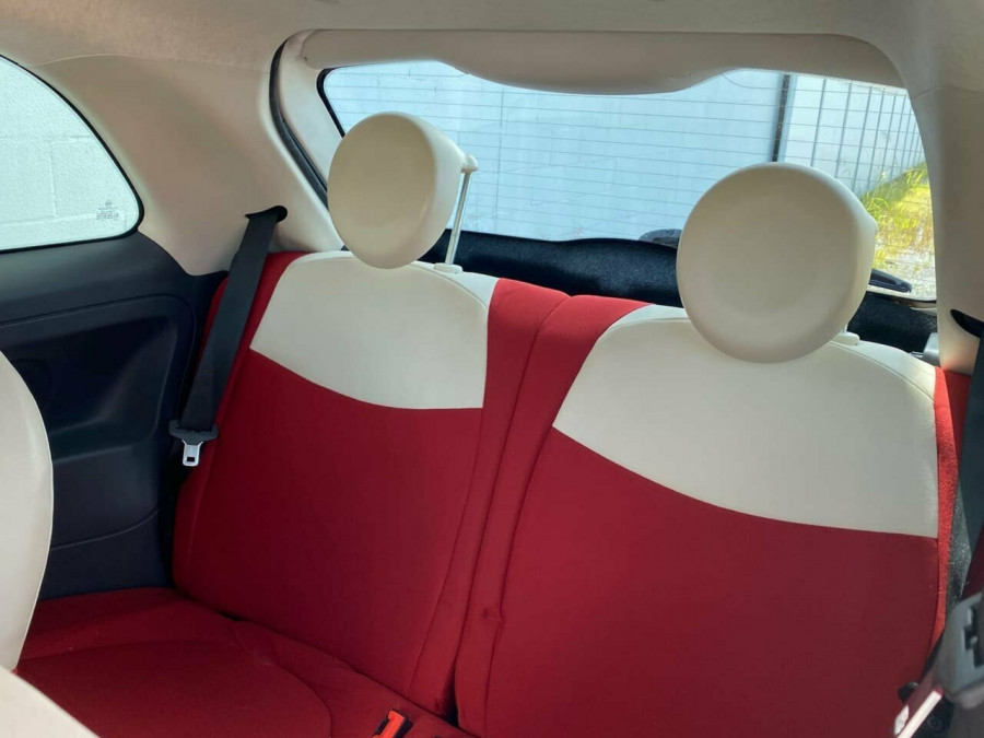 2008 Fiat 500 Series 1 Pop Dualogic Hatchback Image 14
