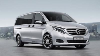 New Mercedes-Benz V-Class MPV