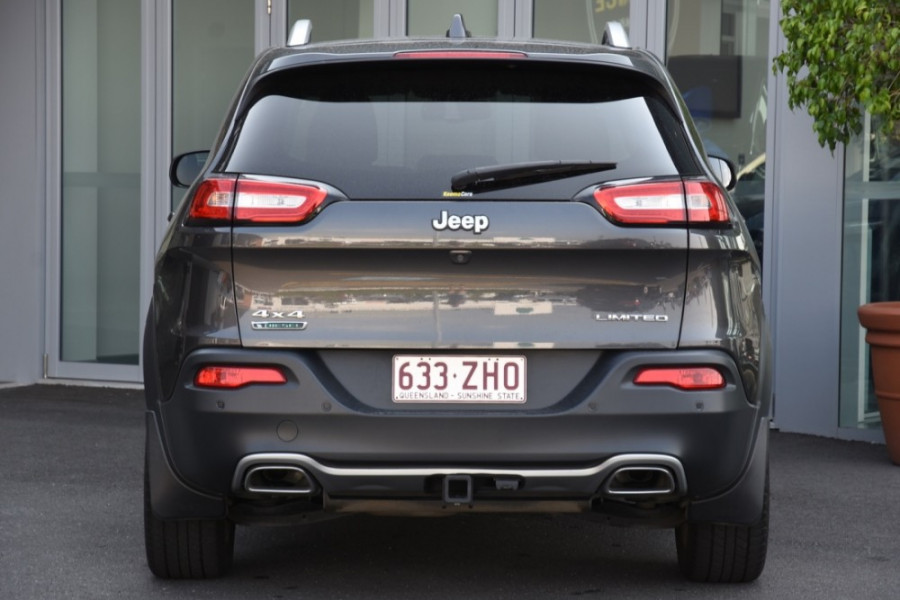 2015 Jeep Cherokee KL Limited Suv Image 4