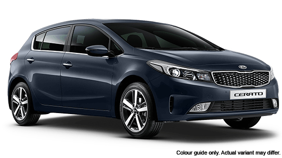 2018 Kia Cerato Hatch YD S with AV Hatchback