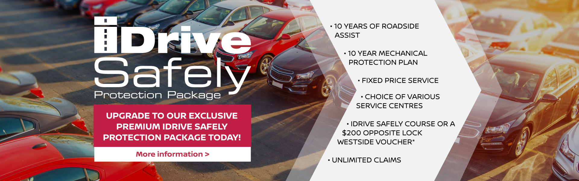 iDrive Safely Protection Package