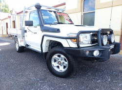 2014 Toyota Landcruiser VDJ79R GXL Cab chassis - single cab