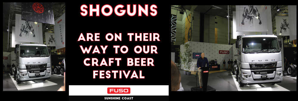 SHOGUNS SET TO STAR AT FUSO CRAFT BEER FESTIVAL