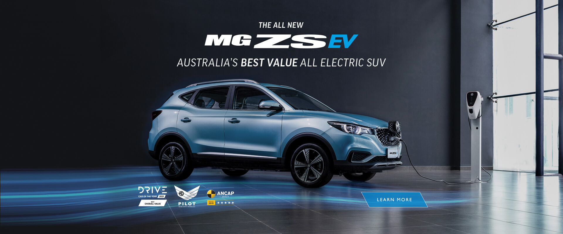 The new MG ZS EV. Electric for Everyone
