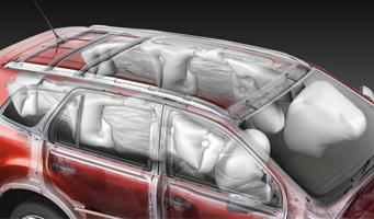 New Everest Seven airbags