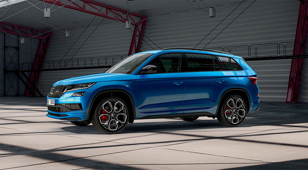 KODIAQ RS 4X4 SUV<br>THE STREET SMART CHOICE
