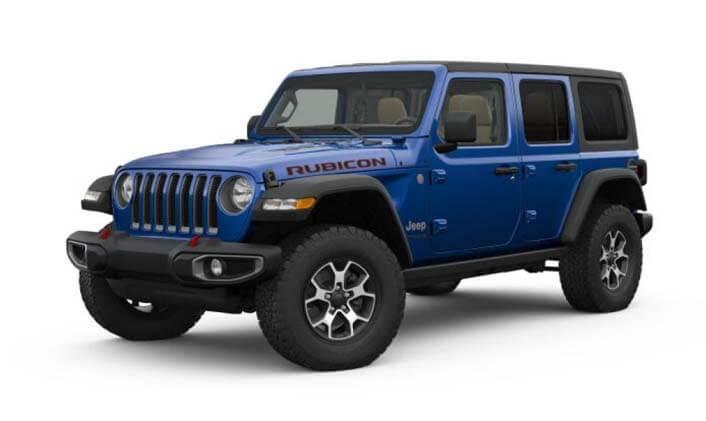 2020 MY0  Jeep Wrangler JL Rubicon Unlimited Suv