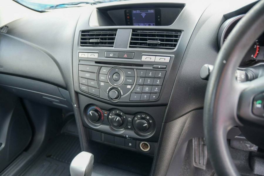 2013 Mazda BT-50 UP0YD1 XT 4x2 Hi-Rider Cab chassis