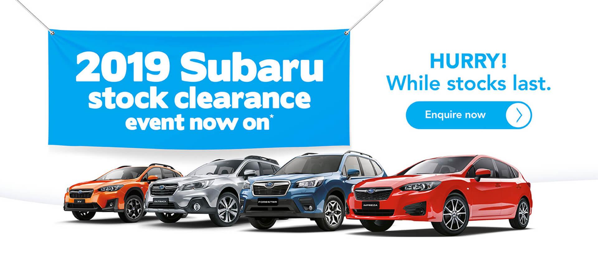 Reef City Motors Subaru Offers