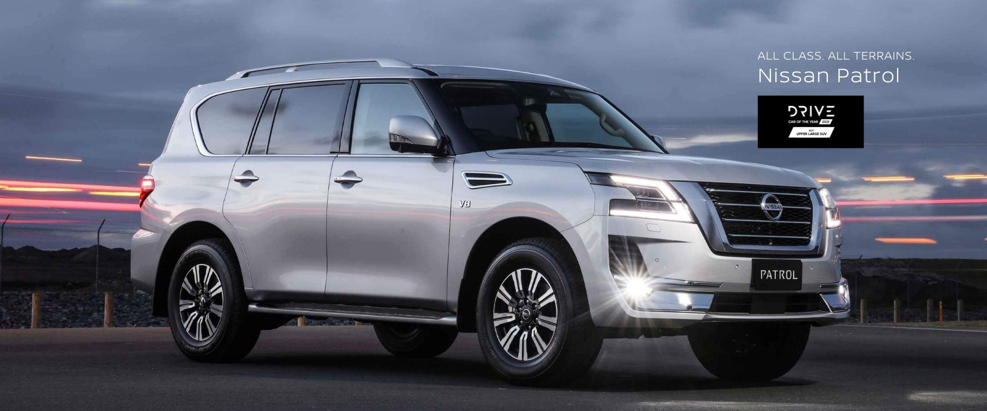 Nissan Partol Nissan Patrol Drive Car of the Year 2021 Best Upper Large SUV