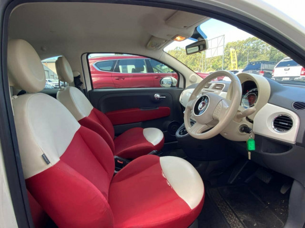 2008 Fiat 500 Series 1 Pop Dualogic Hatchback