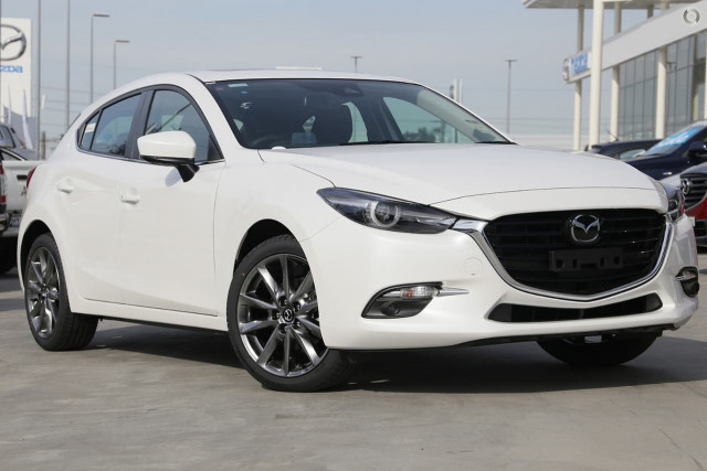 2019 MY18 Mazda 3 BN SP25 Astina Hatch Hatchback