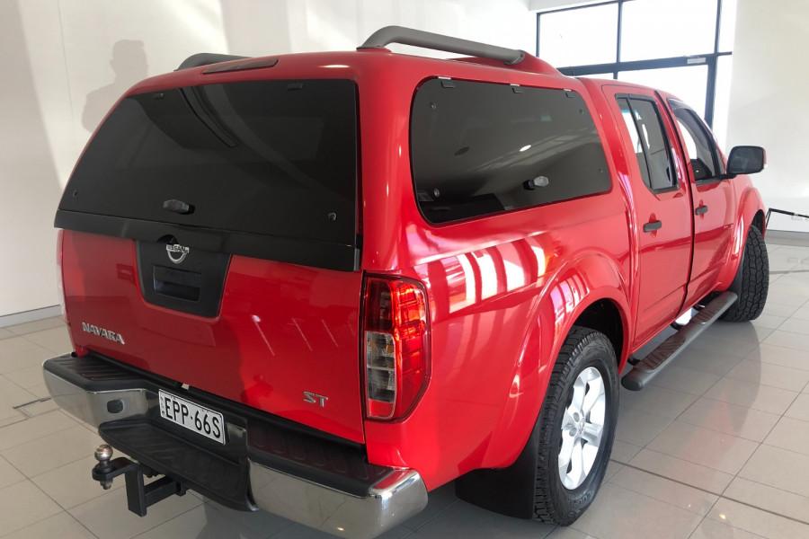 2012 Nissan Navara D40 S6 MY12 ST Utility Image 11