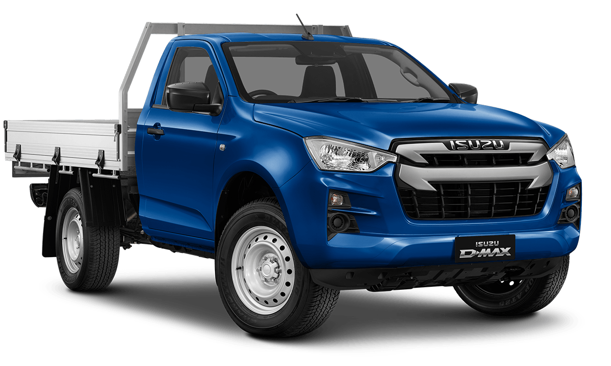 2020 MY21 Isuzu UTE D-MAX RG SX 4x4 Single Cab Chassis Cab chassis