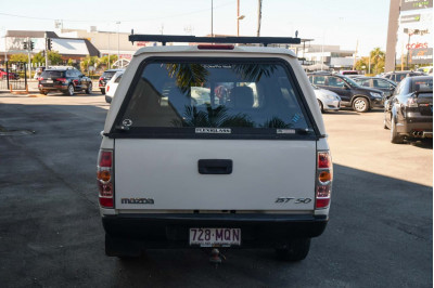 2009 Mazda BT-50 UN DX+ Cab chassis Image 5