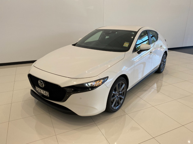 2020 MY19 Mazda 3 BP G25 Evolve Hatch Hatch Mobile Image 1