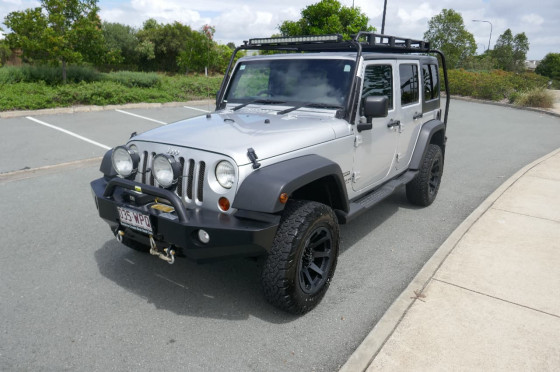 2011 Jeep Wrangler JK Unlimited Softtop