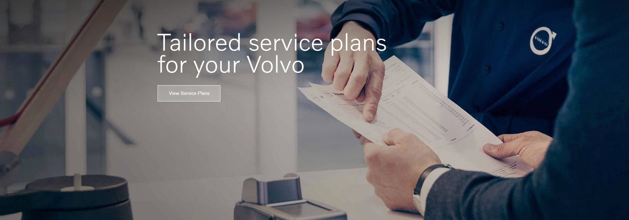 Tailored service plans for your Volvo
