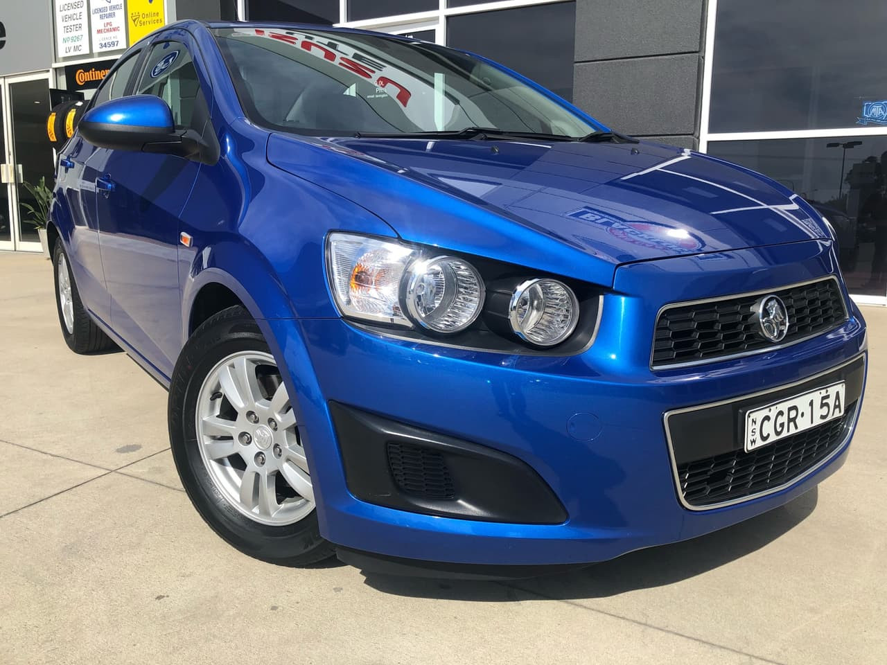 2012 MY11 Holden Barina TK MY11 Sedan
