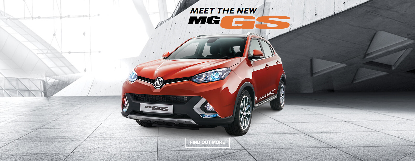 Discover the new MG GS SUV, the latest model available from Victory MG.