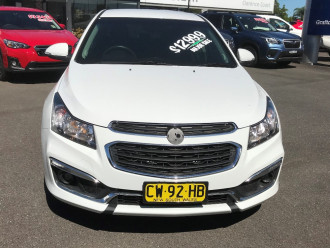 2015 Holden Cruze JH Series II Tu SRi Sedan