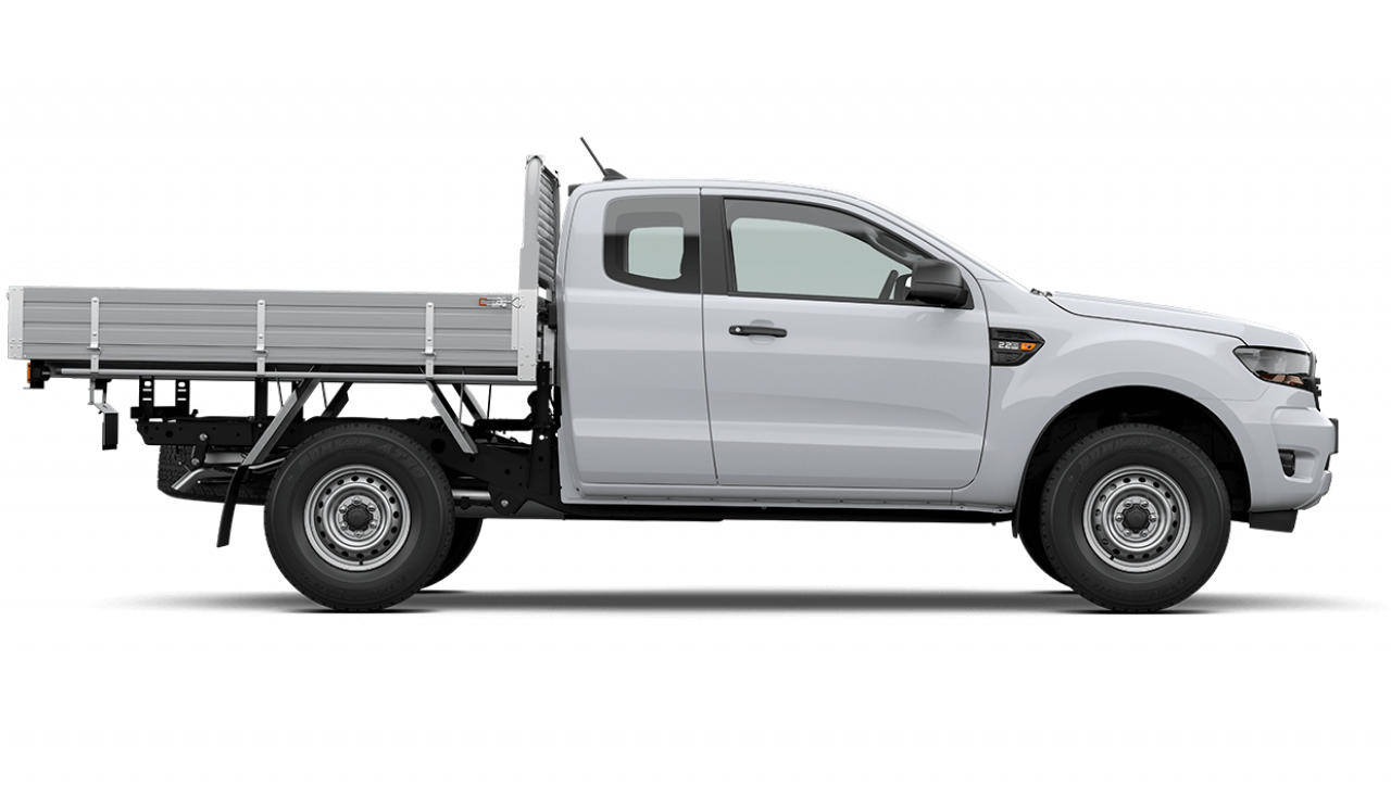 2021 MY21.25 Ford Ranger PX MkIII XL Super Cab Chassis Cab chassis Image 3