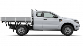 2020 MY21.25 Ford Ranger PX MkIII XL Super Cab Chassis Ute Image 3