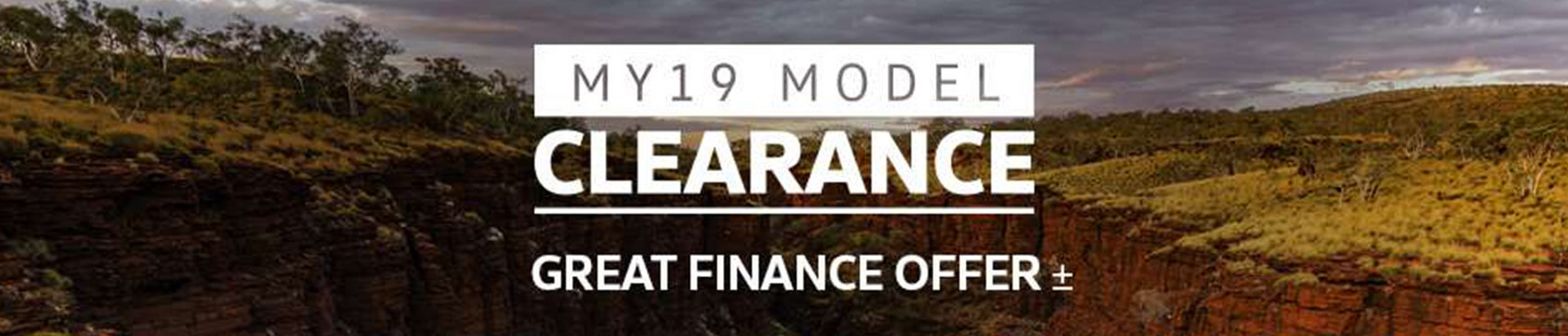 Volkswagen MY19 Model Clearance. Great Finance Offer