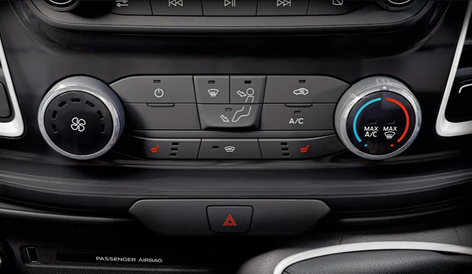 Transit Cab Chassis Interior Comfort